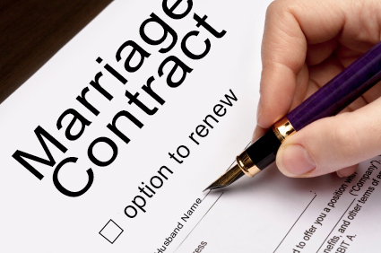 Thinking About a Marriage Contract or Cohab?