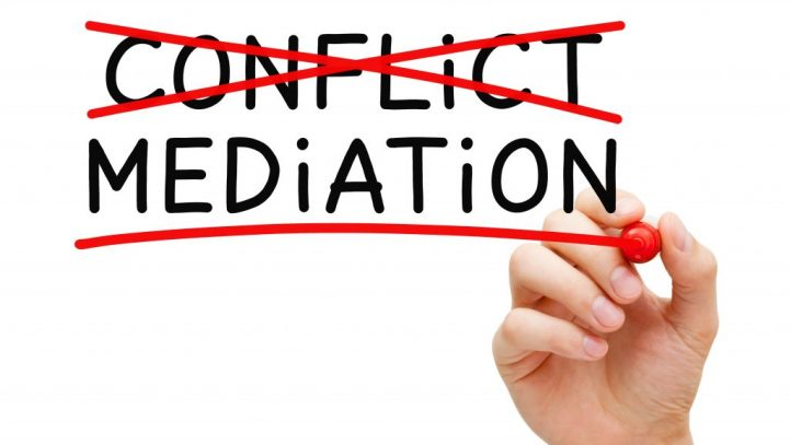 Consider mediation as a dispute resolution option